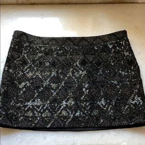 Allsaints Fibonacci skirt. Amazing sequin mini 4